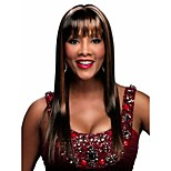 Syntheic Wig Beautiful Secondary Color Extensions  Women Lady Bang Of Wigs