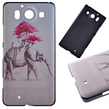 Pink Elephant Pattern PC Hard Cover Case for NOKIA 950