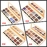 12 Colors Matte Eyeshadow Palette Naked Nude Eye Shadow Brush Matt Makeup Set(Assorted Color)