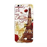 Iron Tower 01 Painting Pattern TPU+IMD Back Case For iPhone6/6s
