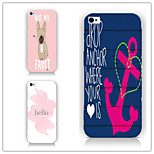 Cartoons Graffiti Pattern PC Phone Case Back Cover Case for iPhone5/5S