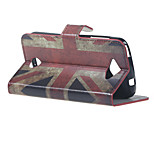 Vintage UK Flag Wallet Leather Stand Case cover for Acer Liquid Z530