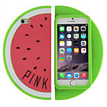 Silicone Watermelon Soft Case for iPhone 5/5S (Assorted Colors)