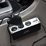 Car Power Divider with USB