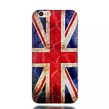 The National Flag Pattern Water Cube TPU Soft Case for iPhone 6/6S