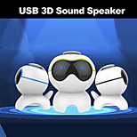 Besteye MY5 Music Dog USB2.0 Speaker Notebook Computer Speaker 3D Stereo  Sound USB Plug and Play Perfect Voice Speaker