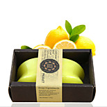 ALL BLUE High Quality Skin Whitening Soap Hot Style Natural Lemon Essential Oil Soaps  Facial Soap