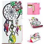 Dreamcatcher Pattern PU Leather phone Case For iPhone 6S/6