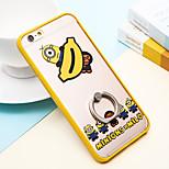 persone giallo anello casi fibbia per iPhone6 6s / iphone
