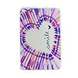 liebe Bleistift gemalt tpu Tablet-Computer Tasche für iPad mini4