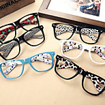[Free Lenses]   Acetate/Plastic Square Full-Rim Classic / Retro/Vintage Prescription Eyeglasses