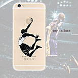 Pay Tribute 24 Classic Dunk TPU Transparent Soft Phone Case for iPhone 6/6S