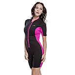 2MM Neoprene Outdoor SBART Women Black Cold-proof Warm Short Sleeve Diving Suit