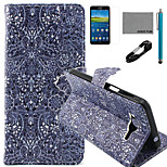 COCO FUN® Retro Pattern Pattern PU Leather Case with V8 USB Cable Flim and Stylus for Samsung Galaxy Grand Prime G530