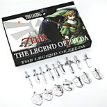 The Legend of Zelda Necklace&Keys Sets Accessories 16Pcs