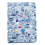 Intensive Cartoon Pattern PU Material Flip Bracket Protective Case for iPad  Mini 4 (Assorted Colors)