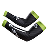 New Black Bike Cycling Arm Warmers Lycra Sports Breathable Bicycle Arm Sleeves S-XXL