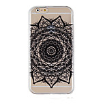 Restoring Ancient Ways Pattern Transparent Phone Case Back Cover Case for iPhone6/6S