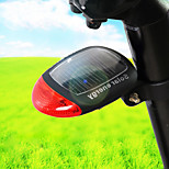 Bike Light , Rear Bike Light - 3 Mode 50 Lumens Waterproof Solar Charging Bicycle Taillights