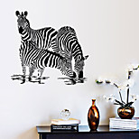 Wall Stickers Wall Decals,Three Zebra PVC Wall Stickers