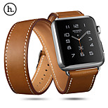 HOCO R Genuine Leather Watchband with Classic Buckle 3 in one for Apple Watch 38/42mm Assorted Colors