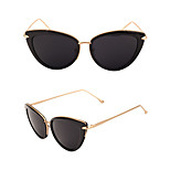 Women's 100% UV400 Cat Eye Vintage Mirrored Sunglasses