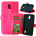 Crazy Horse Flip PU Leather Stand Phone Case Cover with Card Slots for Huawei Y625 (Assorted Colors)