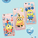 MAYCARI®Mr. Minions Changing Clothing Soft Transparent TPU Back Case for iPhone5/iPhone5s(Assorted Colors)