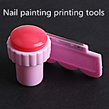 1Pcs Coloured Drawing Or Pattern Printing Tools High-Grade Seal Stainless Steel Blade+A Seal + A Scraper
