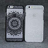 Retro Flower Pattern Openwork Relief Printing Thin PC Material Phone Case for iPhone 5/iPhone 5S