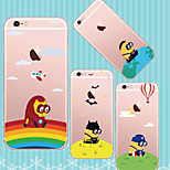 MAYCARI®Mr. Minions Heros TPU Back Case for iPhone 6/iphone 6S(Assorted Colors)