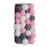 Hot Selling Colorful Pompon Mobile Phone Back Cover for iPhone 5/5S(Assorted Colors)