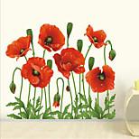 Natal / Floral / Feriado Wall Stickers Autocolantes de Aviões para Parede , pvc 50x70x0.1cm