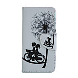 bicycle Pattern Card Stand Leather Case for iPhone 6/6S