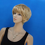 Europe And The United States New Ms Short Blond Hair Wigs