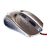 MJT JT07 Wired Precision Optical Mouse Corded Gaming Mouse