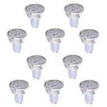 10 pcs GU10 6 W 4*COB 540 LM Warm White / Cool White MR16 Decorative Spot Lights AC 85-265 V
