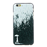 Girl in the Rain Pattern  Hard Case for iPhone 6/6S
