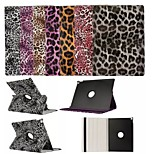 360 Degree Rotation Leopard Print Pattern High Quality PU Leather Case for iPad Pro 12.9 Inch(Assorted Colors)