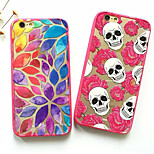 Colored  Pattern TPU Soft Phone Case for iPhone 6/6S