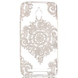 White Lace Hollow Pattern TPU Case for  Asus Zenfone GO ZC500TG