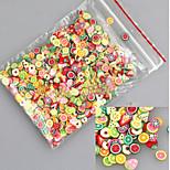 1000pcs Mixing Nail Clay Tablets