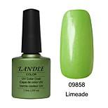 LUNDLE 09858 Soak Off UV Nail Gel Color Gel LED Manicure Gel Limeade