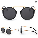 Men / Women / Unisex 's Mirrored / 100% UV400 Oval Sunglasses