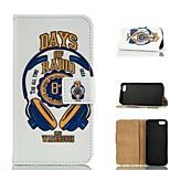 desenho colorido especial ou carteira padrão gráfico casos com casos estande corpo inteiro para o iPhone 5 / 5s