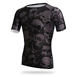 Others Men's Cycling Tops Short Sleeve Bike Breathable / Ultraviolet Resistant / Sweat-wicking / Compression