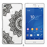 MAYCARI®Black-and-White World Soft Transparent TPU Back Case for Sony Xperia Z3 (Assorted Colors)