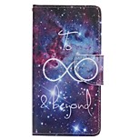 Starry Sky Painted PU Phone Case for Huawei P8 Lite/P8