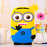 Yellow People Despicable Me Silicon Soft Phone Cases for iPad Air