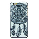 Black and White Feather Pattern  Hard Case for iPhone 6/6S